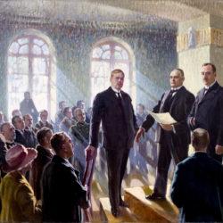EESTI VABARIIGI VÄLJAKUULUTAMINE 24. II 1918, MAAL