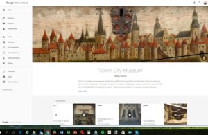 Tallinn City Museum @ Google Arts & Culture