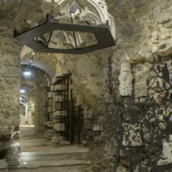 Raidkivimuuseum Ingeri bastioni käigus