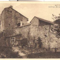 Vaade Neitsitorni  majale Komandandi ( Vene kiriku) aia poolt 1900-1910