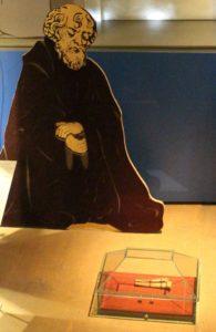 Pirita kloostri reliikvia Tallinna Linnamuuseumi ekspositsioonis