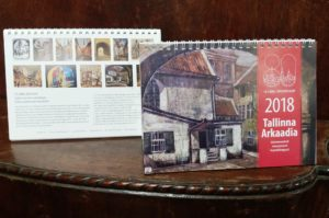 Tallinna Linnamuuseumi kalender 2018: Tallinna Arkaadia