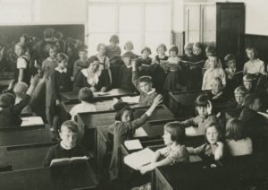 "Historical exhibition:<br><b>""School class - break time: Russian education in Tallinn 1715 - 1944""</b>"