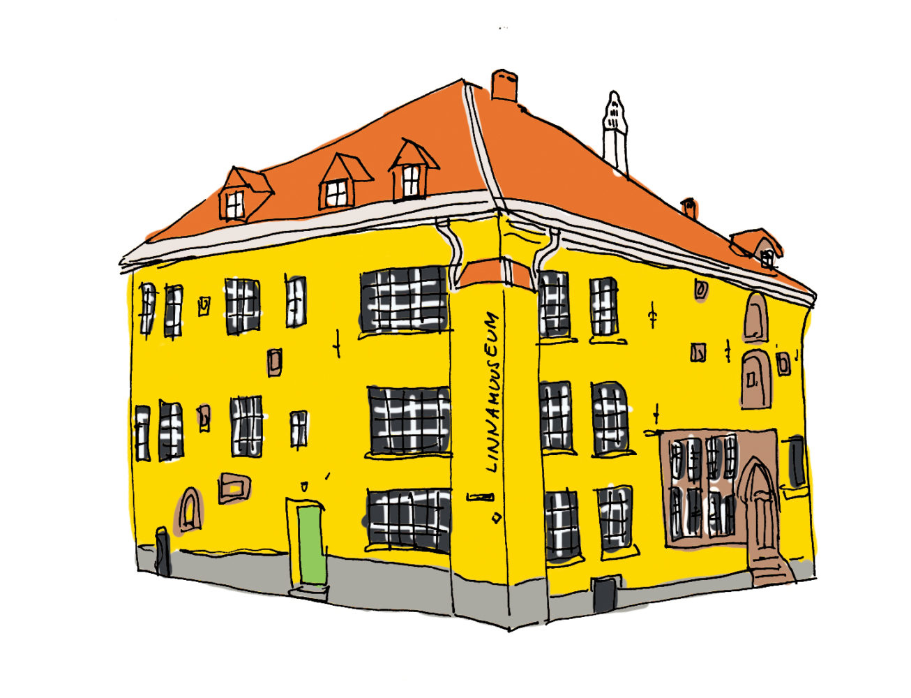 Linnamuuseumi kaupmehemaja