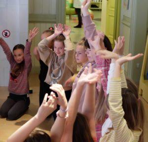 teatritöötuba Miiamilla lastemuuseumis
