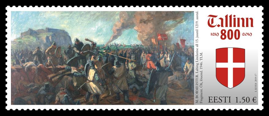 Tallinn 800 postmark