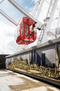 <b>Tallinna Linnamuuseumi välinäitus</b> Tallinna tornidest vaaterattal Skywheel