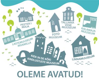 Tallinna Linnamuuseumi filiaalid on avatud