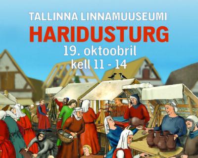 <b>Õpetajate infopäev 19.10. Neitsitornis.</b> Tallinna Linnamuuseumi haridustegevuse ülevaade