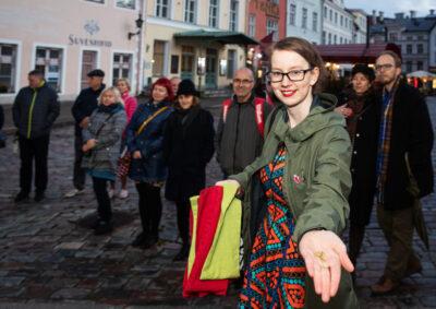 """Näituse """"Kõlvatu Tallinn"""" publikuprogramm"""